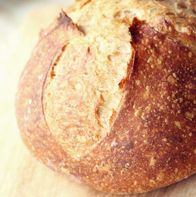 Kovászos tönkölybúzás kenyér