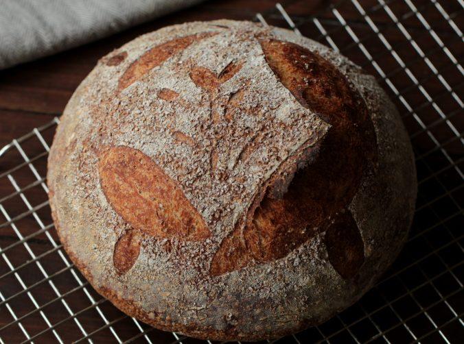 Sörös kovászos kenyér